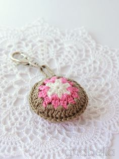 Keychain/pendant for bags by Anabelia