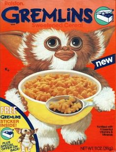 Gremlins Cereal | 25 Cereals From The '80s You Will Never Eat Again