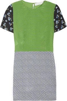 Stella McCartney|Hopper printed silk mini dress|NET-A-PORTER.COM