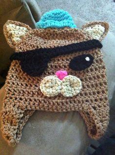 Octonauts Kwazii crochet hat by SierrasCrochet on Etsy, $15.00