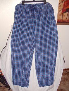 Men's Stafford Essential, sleepwear/ lounge pants, XXL Classic Fit, 100% poly #Stafford #LoungePants