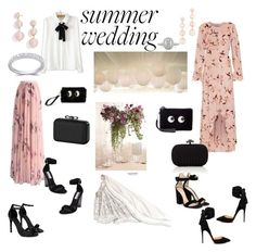 """Summer wedding - splurge or save"" by malinandersson on Polyvore featuring Mikael Aghal, Christian Louboutin, Lauren Conrad, Chicwish, Gianvito Rossi, Boohoo, Steve Madden, WithChic, Rebecca Minkoff and BaubleBar"