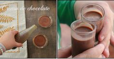 Licor crema de chocolate hecho en casa