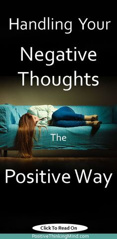 Thoughts have power. You can make your world or break it by your own thinking by learning how to handle your negative thoughts the positve way by doing. How To Cure Anxiety, Health Anxiety, Anxiety Tips, Anxiety Help, Social Anxiety, Anxiety Relief, Mental Health