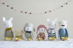 Crochet soft dolls - Lisenn Cabane
