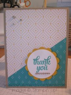 Thank You Card for SSC110 by smackey2012 - Cards and Paper Crafts at Splitcoaststampers