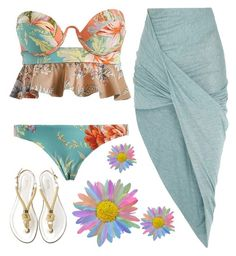 """""""Summer style"""" by alongcametwiggy ❤ liked on Polyvore featuring Helmut Lang"""