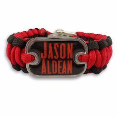 Jason Aldean Paracord Bracelet