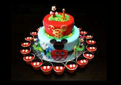 Mickey Mouse birthday party for 3 year old boys | mindyourownbeez: Customised orders