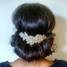 "Amazon.com: Pink Pewter ""Melissa"" Silver Headband; Rhinestone Stretch Band Hair Jewelry: Beauty"