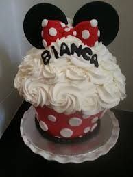 giant cupcakes minnie mouse - Google Search