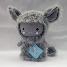 The Frost Monster by Stuffed Silly, Cute and Unique Plush Toy Collectible, Soft Art Doll Yeti. $70.00, via Etsy.