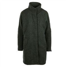 NÜMPH Libentina || Eleganter Mantel im Vintage Style mit hohem Kragen