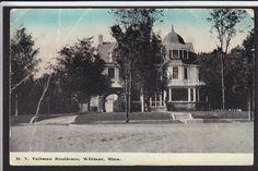 Willmar-MN-Tallman Residence-Mansion-Antique Postcard | eBay