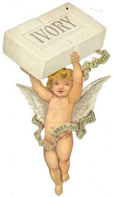 Ivory Soap trade card with cupid Pub Vintage, Vintage Labels, Vintage Ephemera, Vintage Cards, Vintage Paper, Vintage Postcards, Images Vintage, Vintage Pictures, Images Victoriennes
