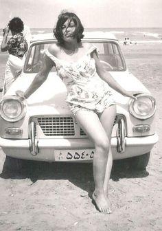 Iranian woman before islamic revolution, 1960