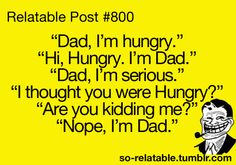 Seriously, this is my dad.
