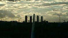 Madrid'skyline