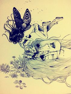 work by Maria  Esteban #comic #art #artistic #character #ink #design #photography #pic #draw #tattoo #drawing #illustration #decoration #fairy #fantasy