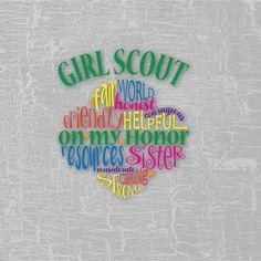 Girl Scout Leader, Girl Scout Troop, Boy Scouts, Girl Scout Shirts, Girl Scout Badges, Brownie Meeting Ideas, Brownie Ideas, Scout Clothing, Girl Scout Trefoil