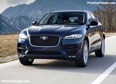 Jaguar F-Pace 2017 poster, #poster, #mousepad, #Jaguar