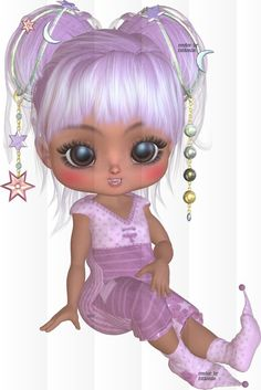Cookie Doll Posers | Poser Tubes Freebie | Anthonia's Design: Art By Anthonia | Poser Tubes ...