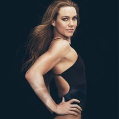Olympic swimmer Natalie Coughlin's arm workout. Gets arms in shape FAST!