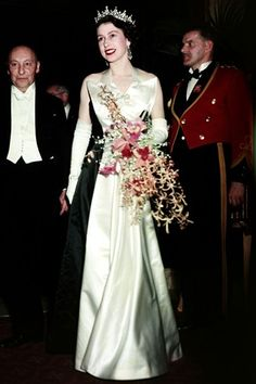 royal-windsor: I love this dress so much…