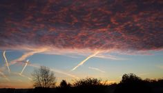 This was taken at dawn on 30 November 2005, looking south-east, at West Wickham, Kent. U.K.