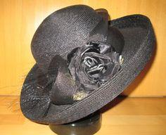 * * * MARZI Florentinerhut mit Blüte * * * | eBay Strand, Ebay, Clothing Accessories, Ladies Accessories, Sun