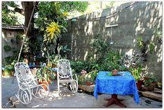 Patio interior. Patio, Outdoor Furniture Sets, Outdoor Decor, Trinidad, Interior, Home Decor, Decoration Home, Indoor, Room Decor