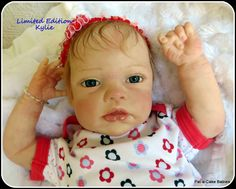 Another Limited Edition sculpt by Romie Strydom. This is my Kylie baby