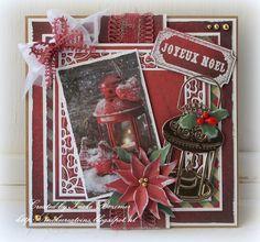 "Christmas Card...Ineke""s Creations: Joyeux Noel"