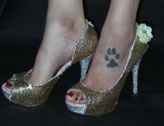 Beauty Glitter Heel