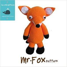 Amigurumi Crochet PDF Patter- Mr.Fox, seaadlighthouse K.Wanherm - Amazon.com