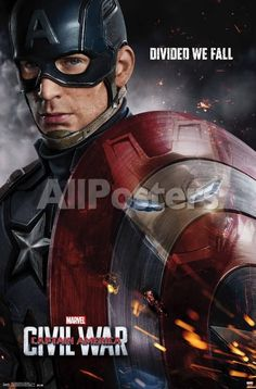 """Captain America (Chris Evans) and Iron Man (Robert Downey Jr.) face off in the first epic trailer for Marvel's """"Captain America: Civil War,"""" in theaters May Captain America Poster, Captain America Civil War, Captain America Wallpaper, Marvel Wallpaper, Marvel Civil War, Captain America Makeup, Iron Man Captain America, Civil Wars, Hd Wallpaper"""