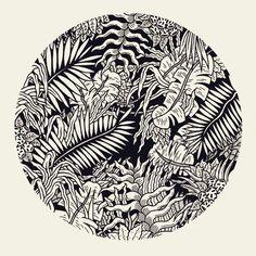 Freak City - pattern tropical jungle