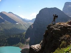 this looks like a great hike - Glacier Nat'l Park Montana