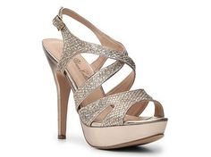 DeBlossom Pasca-22 Sandal in [light] gold — DSW —$19.94