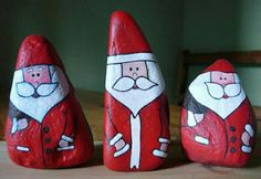 Father Christmas stones
