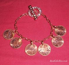 beadoholics.com: Metal Stamping on Pennies- how to stand out