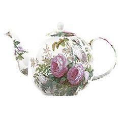 V Brompton Rose Tea Pot