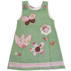 Baby dress. I love this combination of colours.