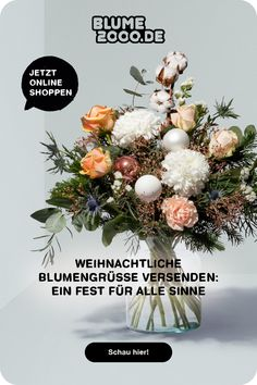 🎁🎄Cozy Christmas: Lass den Weihnachtszauber bei dir einziehen oder versende eine blumige Überraschung an deine Liebsten Christmas Mood, Christmas Wreaths, Amaryllis, Keto Diet For Beginners, Healthy Dinner Recipes, Health And Beauty, Natural Remedies, Holiday Decor, Advent Season