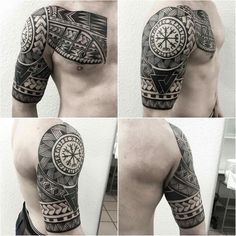 Na obrázku může být: jeden člověk nebo víc lidí - maori tattoos Viking Tribal Tattoos, Celtic Sleeve Tattoos, Viking Tattoo Sleeve, Leg Tattoos, Body Art Tattoos, Tattoos For Guys, Irezumi Tattoos, Tattoo Arm, Tattoo Drawings