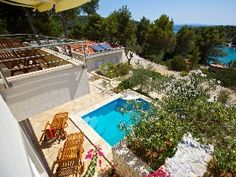 Get away from it all villa set amidst Mediterranean gardens with private poolHoliday Rental in Milna from @HomeAwayUK #holiday #rental #travel #homeaway