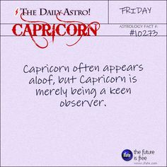 Capricorn Daily Astro!: Here's an awesome free birth chart reading.  Visit iFate.com today!