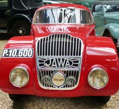 Jawa 750 - 1935 - Vintage car at the National Technical Museum of Prague, Czech…