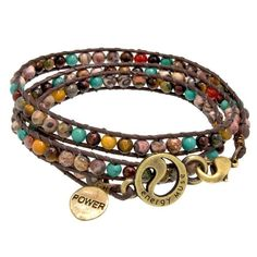 "Energy Muse~ I have the Jason Mraz ""Gratitude"" I love it and my Mother Earth bracelet too!!"