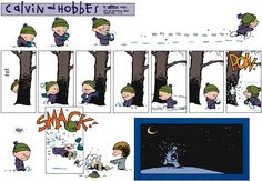 Calvin and Hobbes strip for February 15, 2015